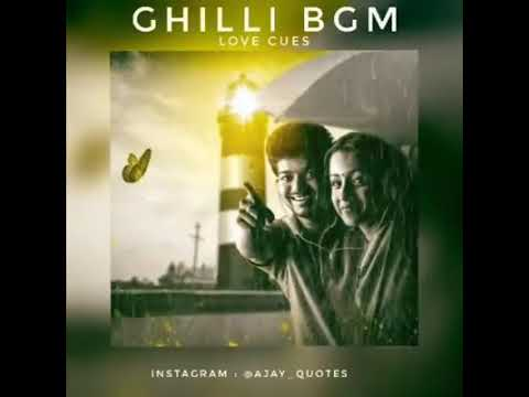 love feel BGM for tamil love $ from gilli move$