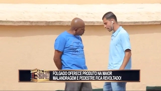 """Pegadinhas #4 - Quer Açaí na Mão? (João Kleber Show """"Rede TV"""" Toninho Tornado) HD"""