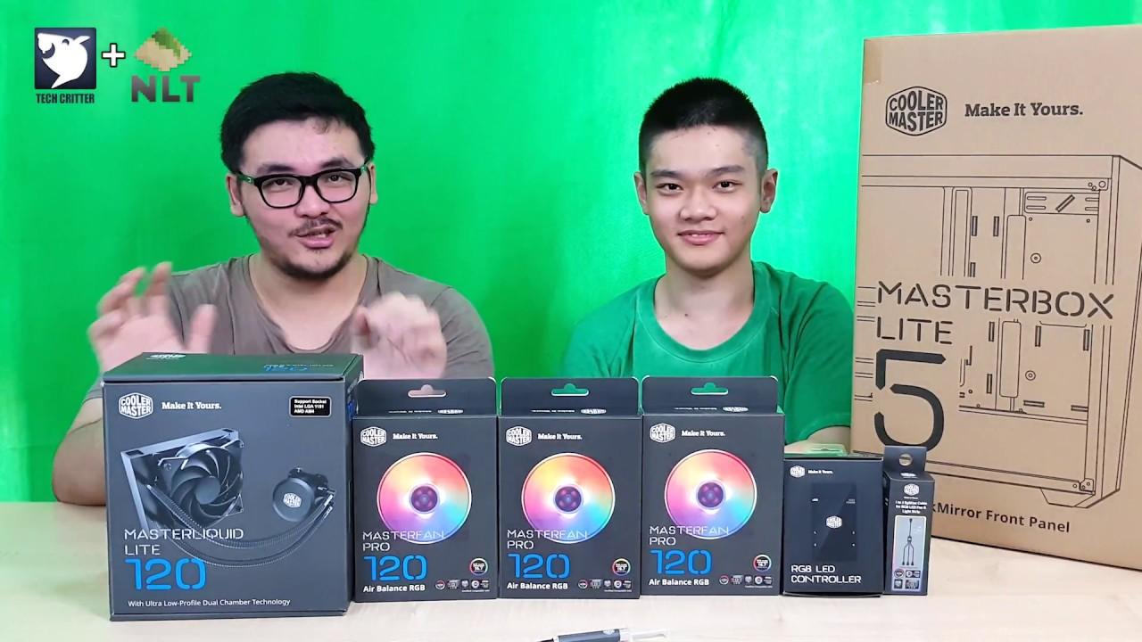 Showcase: Cooler Master MasterBox Lite 5 + RGB Accessories