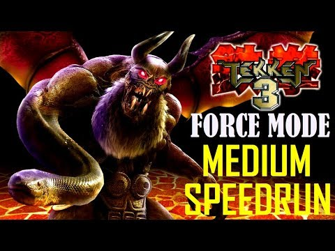 tekken 3 force medium (answer to Shirdel's new time) 4-26