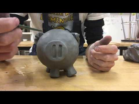 How To Make A Clay Piggy Bank