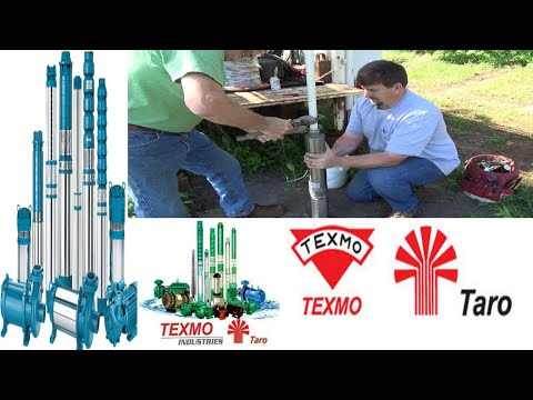 How to Borewell submarsible motor pump installing with ashirvad pipes Hindi  Urdu & Telugu