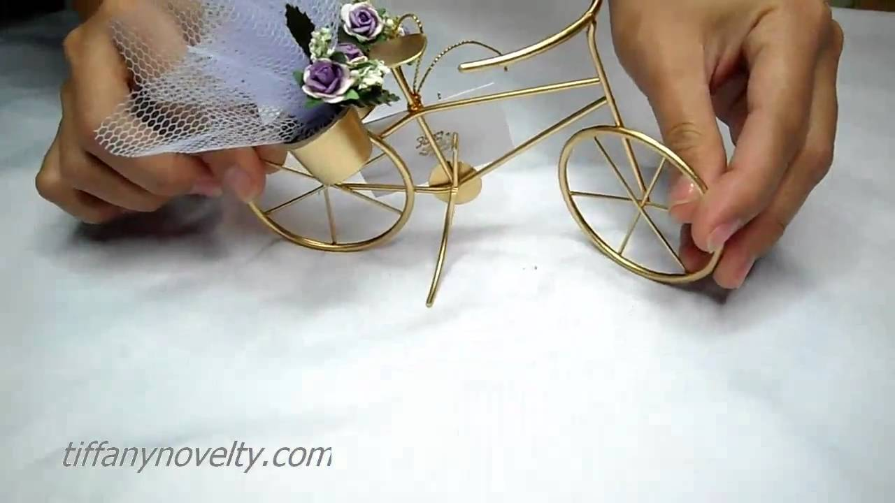Vintage Bike - Souvenirs & Party favors for wedding or debut - YouTube