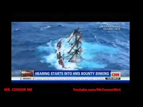 HMS Bounty Sinking Investigation Hearing Opens Today  Superstorm Sandy Still Haunting