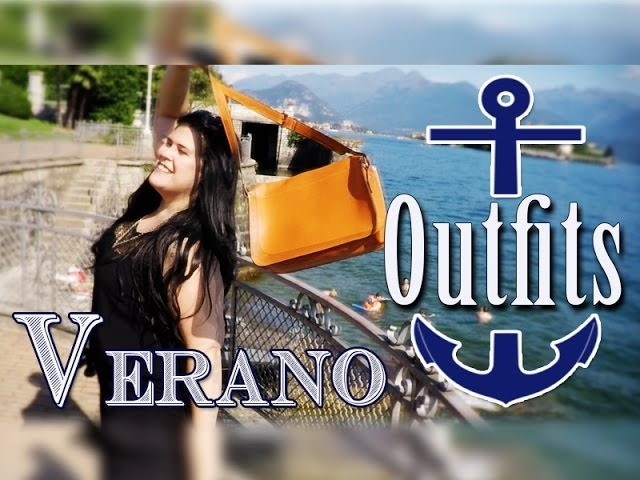 Outfits De Verano Para Tallas Grandes Summer Lookbook De Moda Xl Youtube