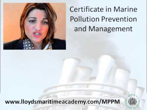 Marine Pollution Prevention and Managment online training course