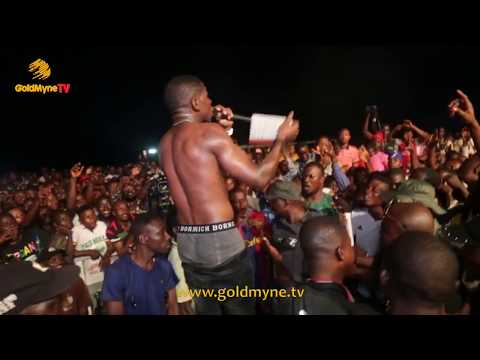 SMALL DOCTOR'S GOLD NECKLACE SNATCHED DURING PERFORMANCE AT PELLER UNITY CUP