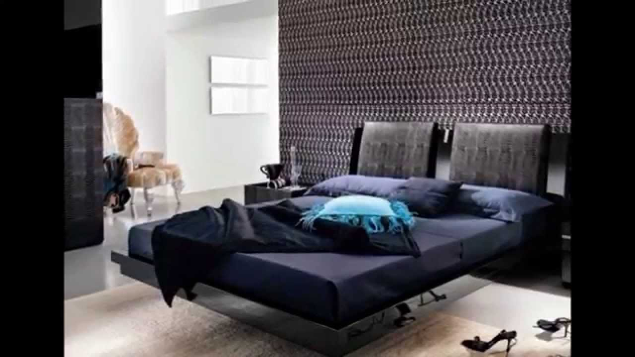 Floating bed for bedroom - YouTube