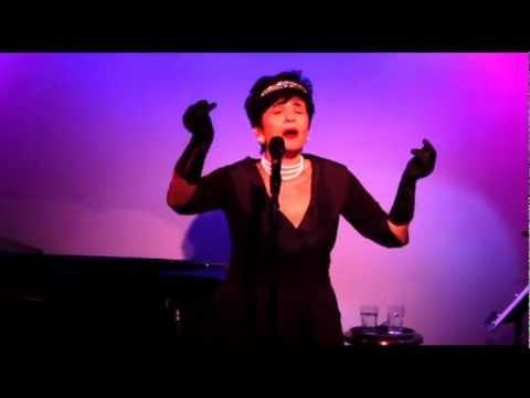 Evangelia Kingsley sings A Word on My Ear at the Metropolitan Room