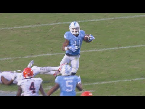 UNC Football: Malik Simmons