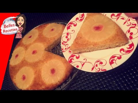 gâteau-à-l'ananas-renversé---rapide---belles-recettes