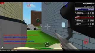 superpeanut089's victory on paint ball {roblox}