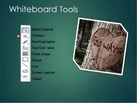 20 Ways to use the Blackboard Collaborate Whiteboard (Katie