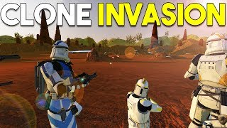 CLONES INVADE GEONOSIS! - Mount and Blade STAR WARS MOD