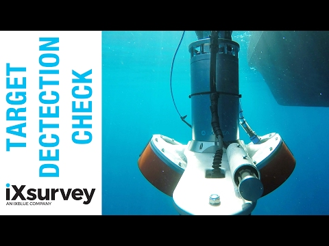 Target Detection Check // IXSURVEY // Marine Survey Specialists
