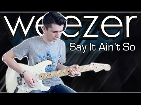 Weezer - Say It Ain't So (Guitar & Bass Cover w/ Tabs)