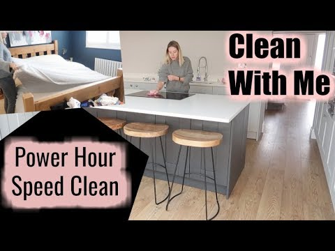 WHOLE HOUSE SPEED CLEAN | POWER HOUR | KERRY WHELPDALE