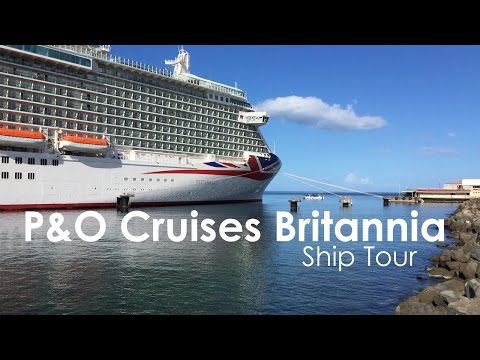 P&O Cruises Britannia Ship Tour