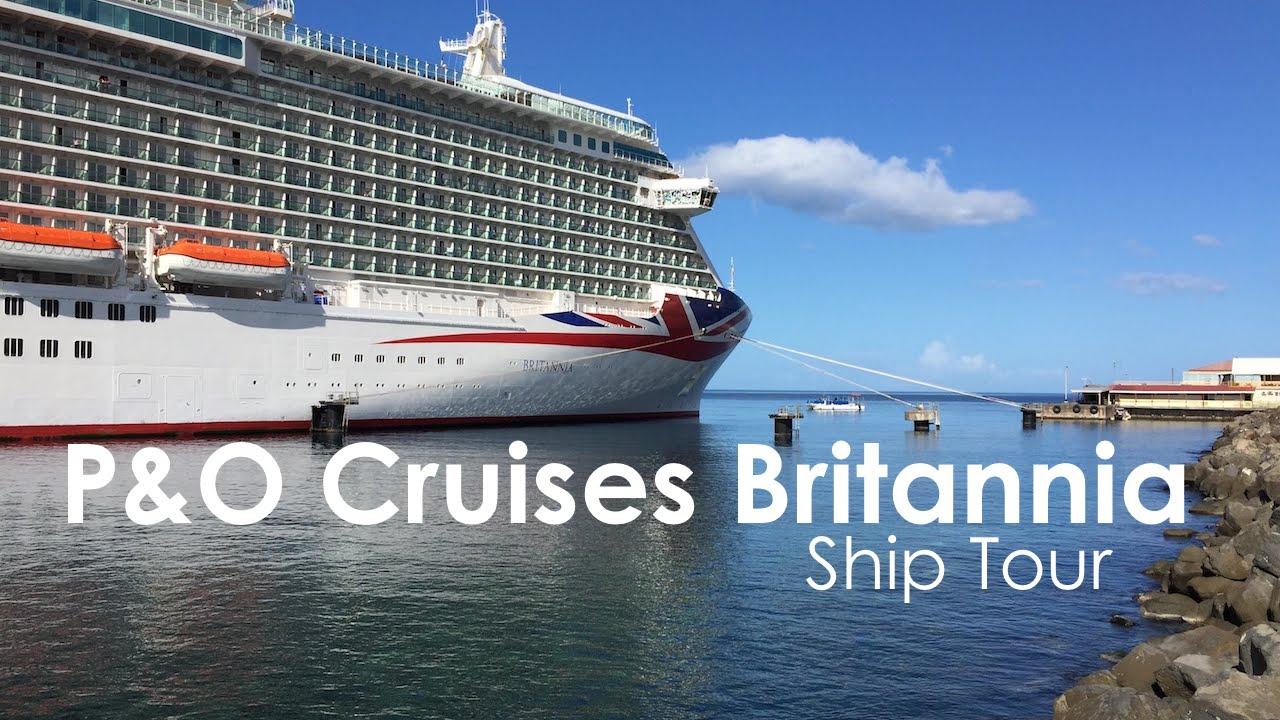 PO Cruises Britannia Ship Tour YouTube - Britannia cruise ship