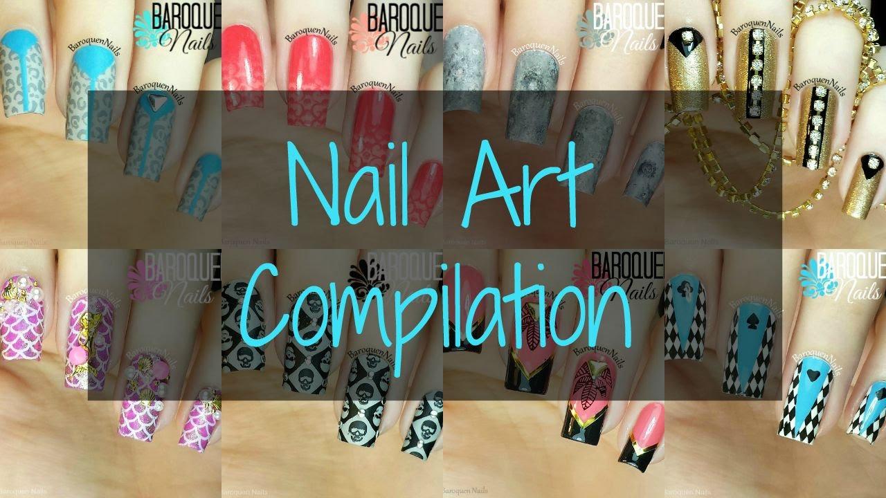 Instagram Nail Art Videos Compliation - Speed Tutorials from ...