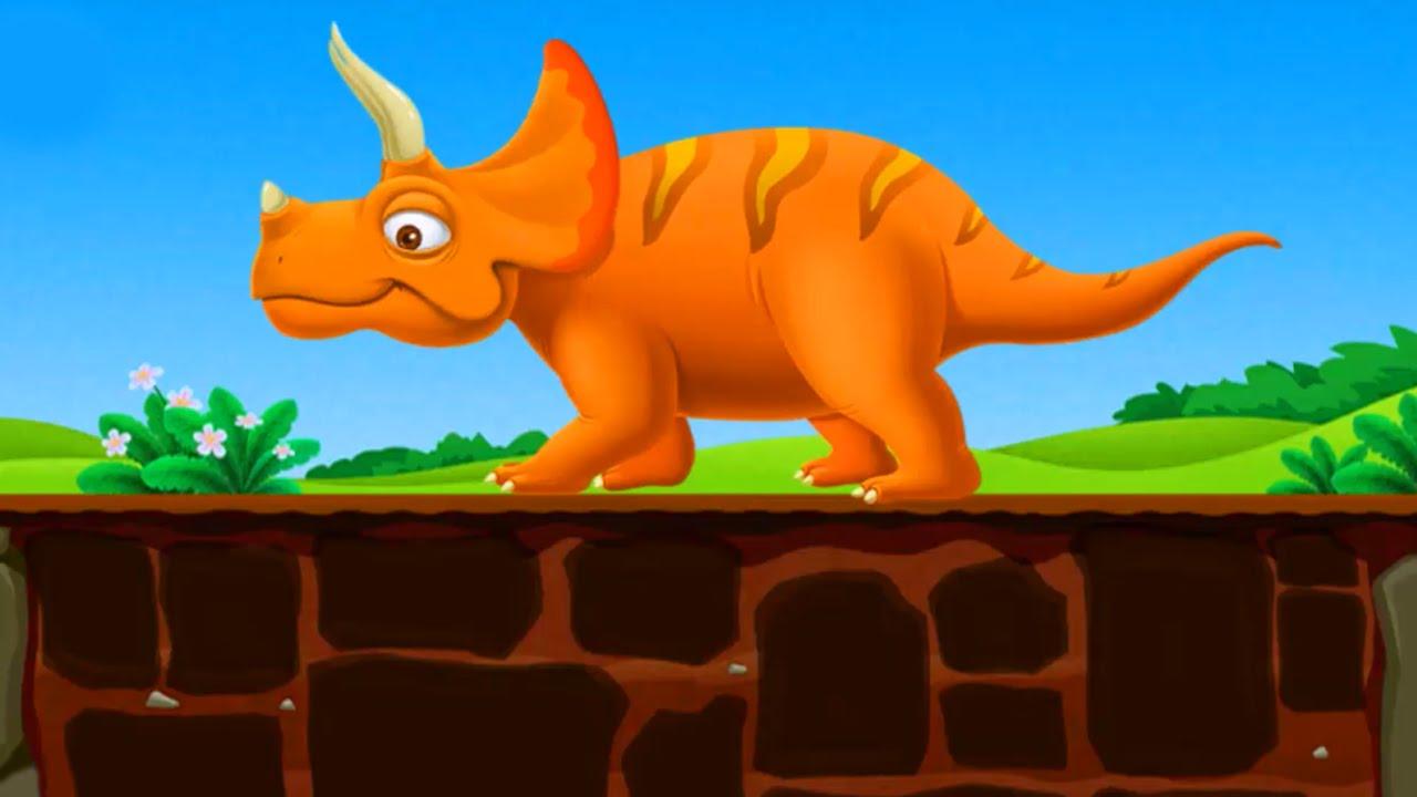 Dinosaur Kids Games Education Video For Children