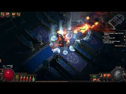 Path of Exile: Fall of Oriath BETA - Flame Totem Chieftain - Ep 15