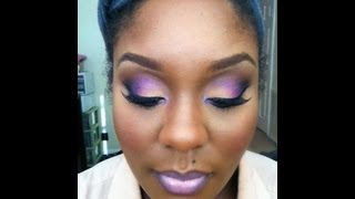 💜 Valentine's Day Purple & Peach 💜 Thumbnail