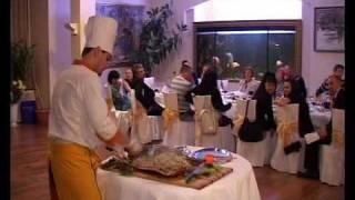 горячие блюда ресторана аквариум