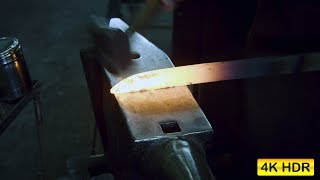 Forge Welding Repeated - Broad Seax (Ep 5) - 4K HDR