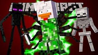 Minecraft Mods - VIREI UM CREEPER ! (MetaMorph)  // FRANGO