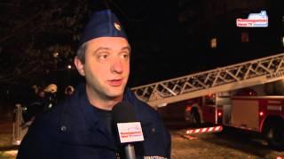 Gyakorlatoztak a tűzoltók