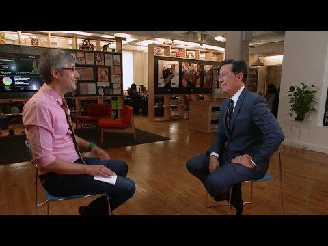 Stephen Colbert On Getting To Play Himself