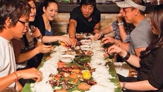 Cusina Lounge: 'Eat Quarters' of Boodle Fight and Home of Barbecue in Toronto