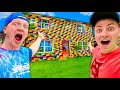 World's Biggest LEGO House Tour (Unspeakable)!!