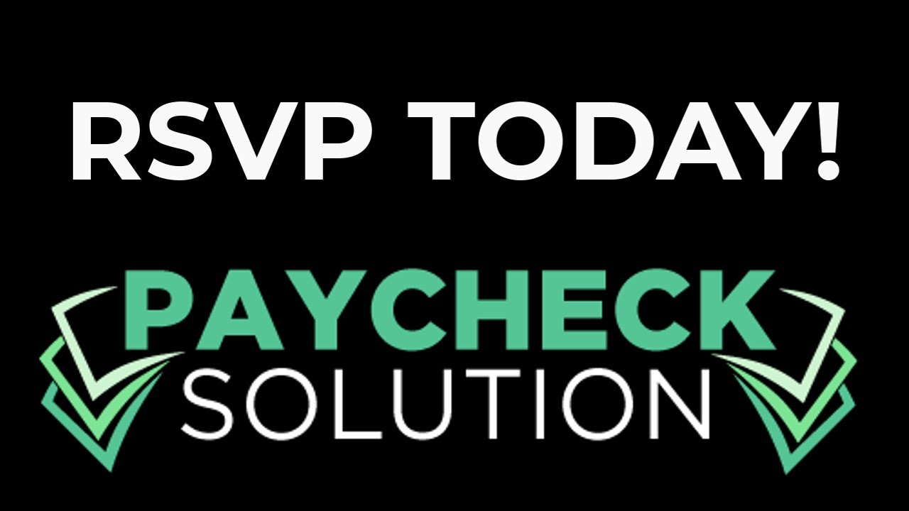 Register To Watch Paycheck Solution Docuseries - YouTube