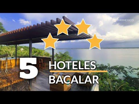 Top 5 Hoteles 4 Estrellas en Bacalar