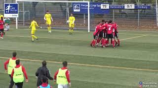 B-Junioren: 0:1 - Dominique Röse - Karlsruher SC II - SC Freiburg