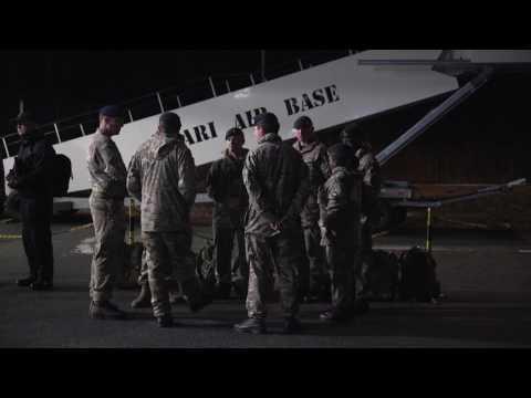 British troops arrive in NATO deployment to Estonia
