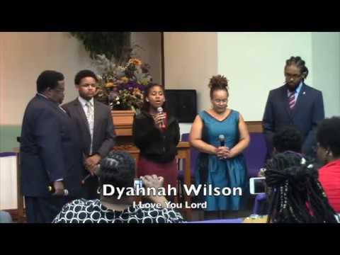1447. Finally The Wilsons- I love You Lord-Dyahnah Wilson, soloist