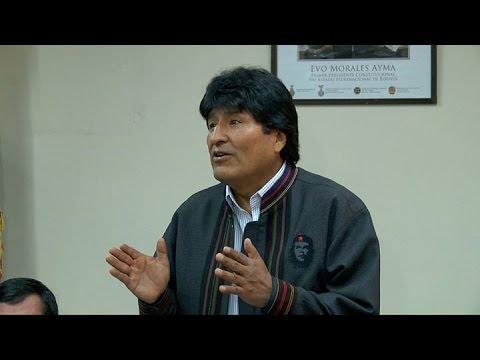 Morales pide a México que mire a Sudamérica