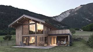 Incredible Home Offers a View of Swiss Mountains and Valleys