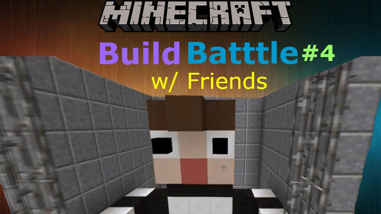 Minecraft prison cell build battle minigame w friends