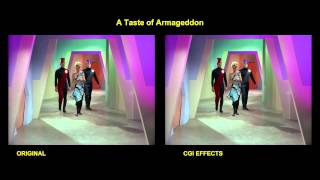 Star Trek - A Taste of Armageddon - visual effects comparison
