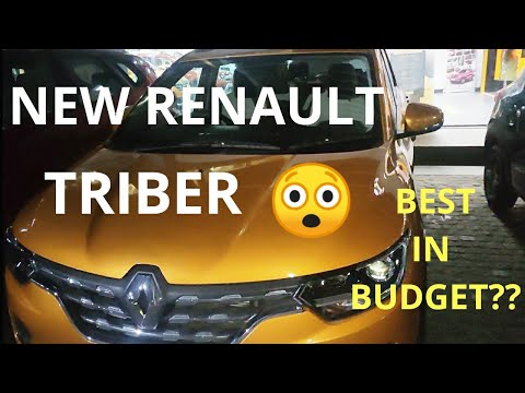 Renault Triber Quick Review   In Hindi   7 Seater Car In 6 Lakhs Only