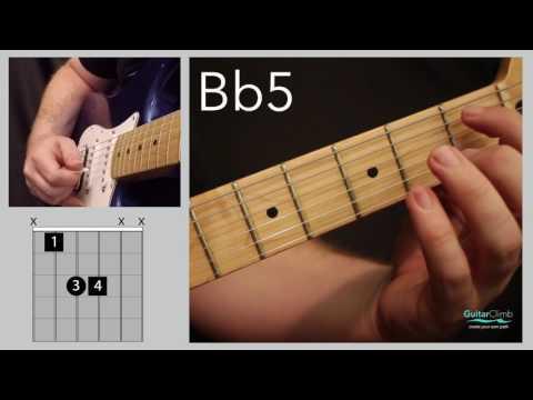 Bb5 Guitar Chord | ChordsScales