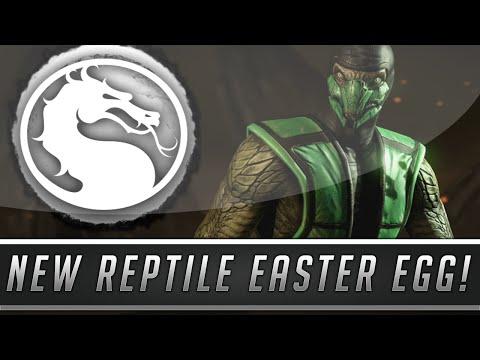 Mortal Kombat X: New Reptile Easter Egg! - Hidden