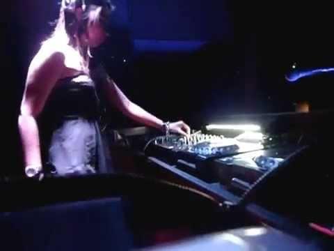 DJ Karen Garrett  at Center Stage Palembang