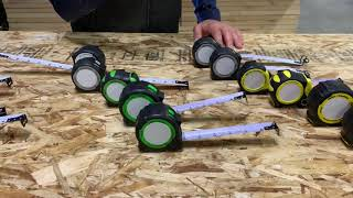 FastCap's Pro Carpenter Tape Measures Overview