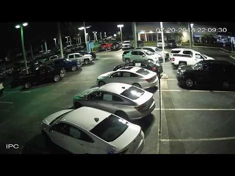 Night Hawk Monitoring Car Dealership Mayhem 7/20/18