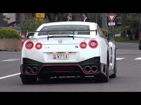 Nissan GT-R NISMO 3.8L V6 Twin-Turbo doing LAUNCH CONTROL!